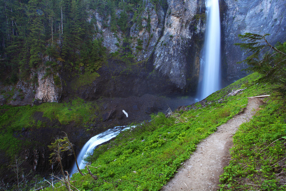 Comet Falls, Mount Ranier National Park