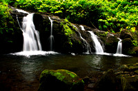 Hahalawe Falls on Road to Hana Maui Hawaii