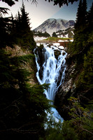 Myrtle Falls in Mount Ranier National Park